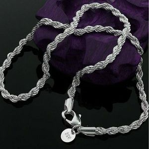 Jewelry - 5mm Sterling Silver Twisted Rope Necklaces